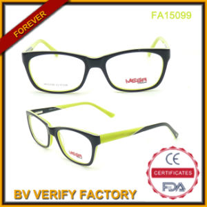 Best Selling Unisex Acetate Eyeglasses with New Design (FA15099) pictures & photos