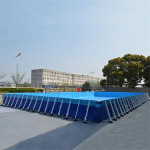 China 12m X 36m Large Size Intex Metal Frame Swimming Pool for Sale ...