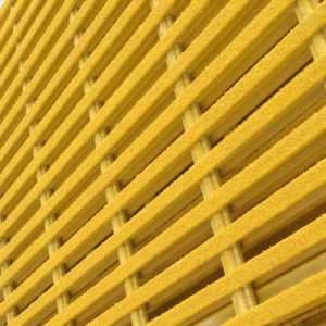 Fire Retardant Fiberglass/ FRP/ GRP Molded/Pultruded Grating pictures & photos