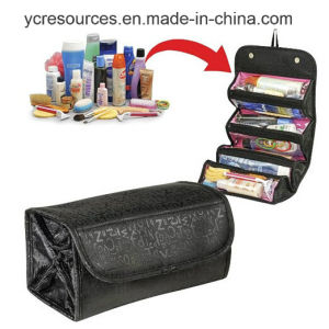 Roll-N-Go Cosmetix Bag, Travel Make up Bag (PG18007) pictures & photos