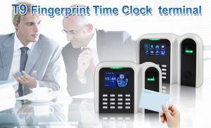 Fingerprint Time Clock with RFID Card Reader (T9/ID) pictures & photos