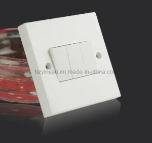 10A 3 Gang Wall Switch