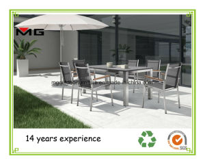 China Outdoor Dining Table With Honeycomb Stone Top China Outdoor