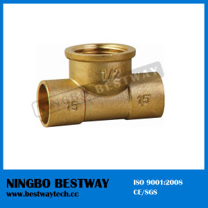 The Tee of Brass Pipe Fitting Hot Sale (BW-501) pictures & photos