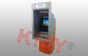 High Quality Floor Standing Through Wall Custom Payment Kiosk with A4 Laser Printer pictures & photos
