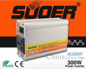 Suoer DC AC Inverter 24V Solar off Grid Power Inverter 300W (SDA-300B)