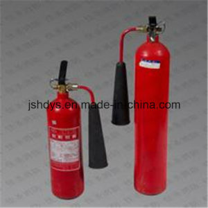 5kg Convex Bottom Alloy Steel CO2 Fire Extinguisher (cylinder: EN1964-1)