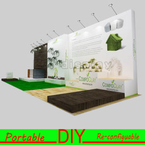 Portable Custom Modular Printed Exhibition Show Banner Backdrop with Spotlights pictures & photos