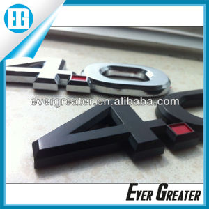 Customized 4.0 Car Emblems Badges with ISO/Ts16949 Certified pictures & photos