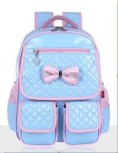 High Quality Cute Girl′s School Backpack Bags