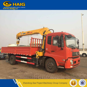 8t Telescopic Boom Material Handling Truck Mounted Crane