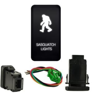 White Sasquatch Light Push Switch for Toyota Fj Cruiser Tacoma 4runner 2007-2009 pictures & photos