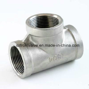 Investment Casting Stainless Steel Screwed Cross pictures & photos