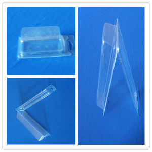 Square Clamshell Box Plastic Packing Box for Hardware Parts pictures & photos