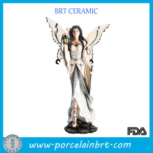 Home DEC Solemn Resin Angle Figurine pictures & photos