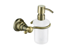 Sanitary Bathroom Accessories Bathroom Fittings Square Soap Dispenser Holder pictures & photos