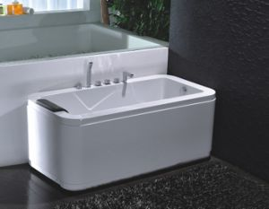 Luxury and High Quality Massage Bathtubs with Skirted and Pillow pictures & photos