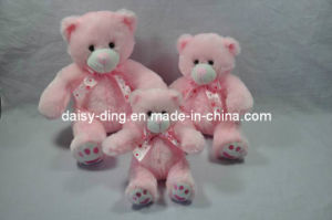 Plush Pink Teddy Bear with New Soft Material pictures & photos