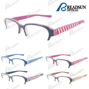 Kids Optical Glasses with Acetate Frame and Rubber Temple (OAK284013) pictures & photos