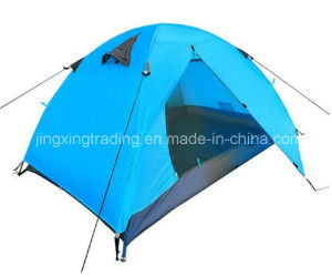 190t Waterproof Polyester Camp Tent for 1-2 Persons (JX-CT025-2) pictures & photos
