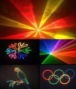 5W RGB Ilda Animation Logo Disco DJ Stage Moving Head Laser Light