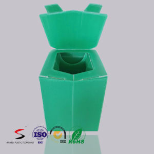Corrugated Plastic Toilet for Disaster Using Load Capacity 350 Kg pictures & photos