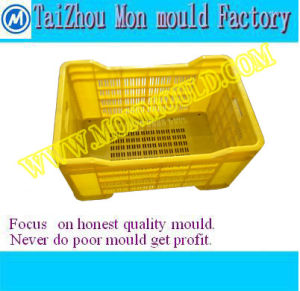 Injection Mould for Plastic Fruit/Vegetable Shipping Crate
