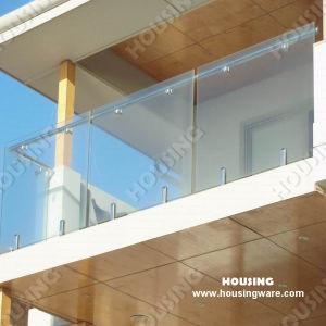 China Customized Design Balcony Glass Railings Railing