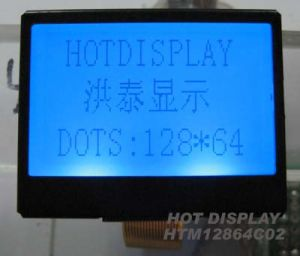 P/S Spi Interface Graphic LCD Module (COG 12864) Resolution: 128 X 64 Dots