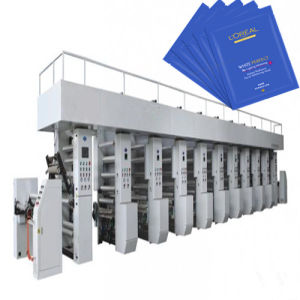 Multi Color Rotogravure Printing Machine/3D Printer for Plastic Film, Paper
