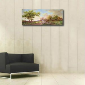 Decoration Painting of Towering Trees pictures & photos