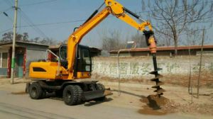 Wheel and Crawler Excavator with Hammer, Auger, Grabber, Quick Hitch, Tilt Bucket pictures & photos