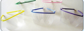 Dental Disposable Glasses Safety Eyewear (E-3)