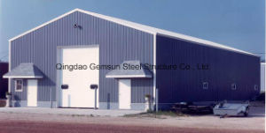 Easy Assemble Workshop/ Warehouse Steel Structure with Sandwich Panel SL-0090 pictures & photos