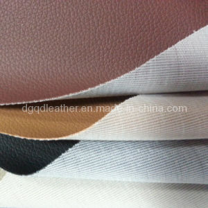 Hot-Sellingscratch Resistance Furniture PVC Leather (QDL-FV005) pictures & photos