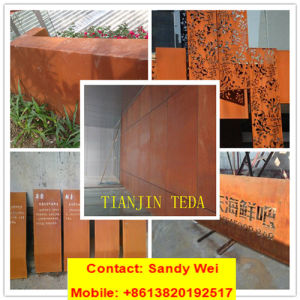 Bridge Facade Door Window Steel Plate 355jowp Corten A/B/SPA H/SPA C