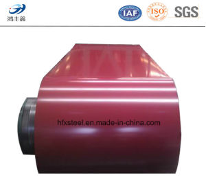 Red Color Zinc Coated PPGI Prepainted Steel Coil