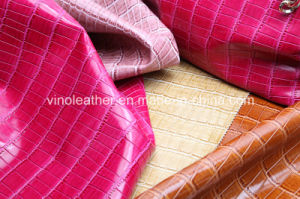 Stone Grain PU Leather Material for Shoes