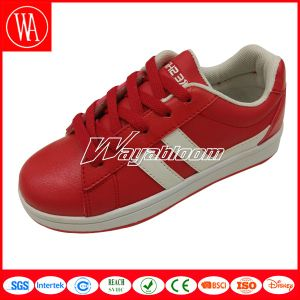 Fashion Style Lace-up Children Skate Shoes
