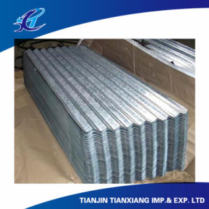 Full Hard Galvanized Corrugated Steel Roofing