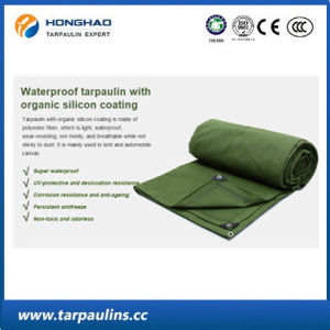 Waterproof Wear-Resistance Canvas Laminted Tarpaulin for Truck Cover pictures & photos