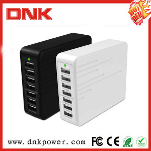 9A Fast Charger Multi 7 Port Home Travel USB Wall Charger for iPad