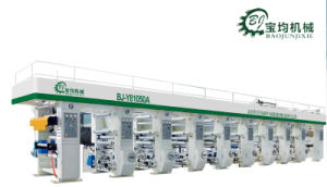 Multifunctional Six Color Rotogravure Printing Machine