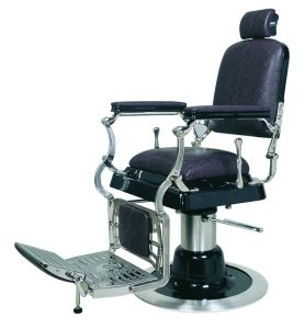 Old Vintage Man Barber Chair (A621)