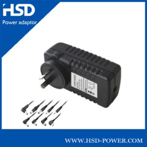 Wall Type 30W 30V Switching Adapter/DC Adapter with SAA Plug