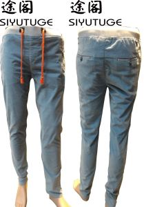Mens Fashion Casual Comfortable Cotton Trousers Pants pictures & photos