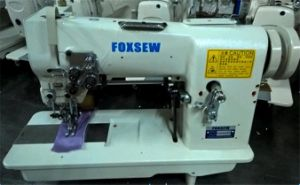 Double Needle Hemstitch Picoting Sewing Machine pictures & photos