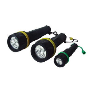 Plastic Waterproof Flashlight (BS-1A BS-1B BS-1C) pictures & photos