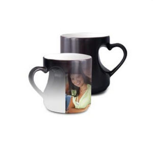11oz Color Heart Changing Ceramic Mug