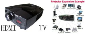 1024*768, HD Home Theater LED Projector with TV, DVD (SV-806)